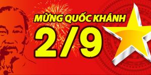 🇻🇳 Chào mừng ngày Quốc Khánh Việt Nam 2/9 🇻🇳