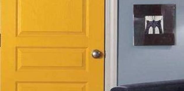 Tấm da cửa